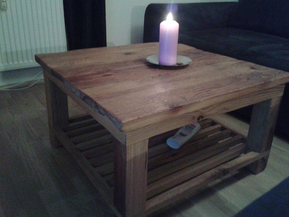 chiemgau werkstatt couchtisch aus altholz. Black Bedroom Furniture Sets. Home Design Ideas