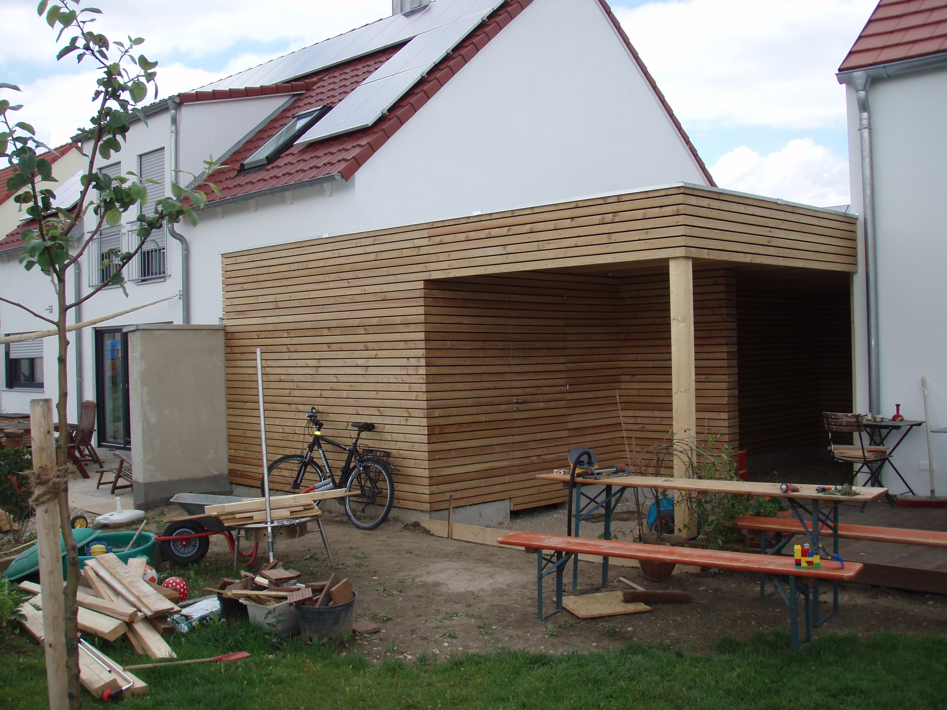 chiemgau werkstatt carport in regensburg. Black Bedroom Furniture Sets. Home Design Ideas